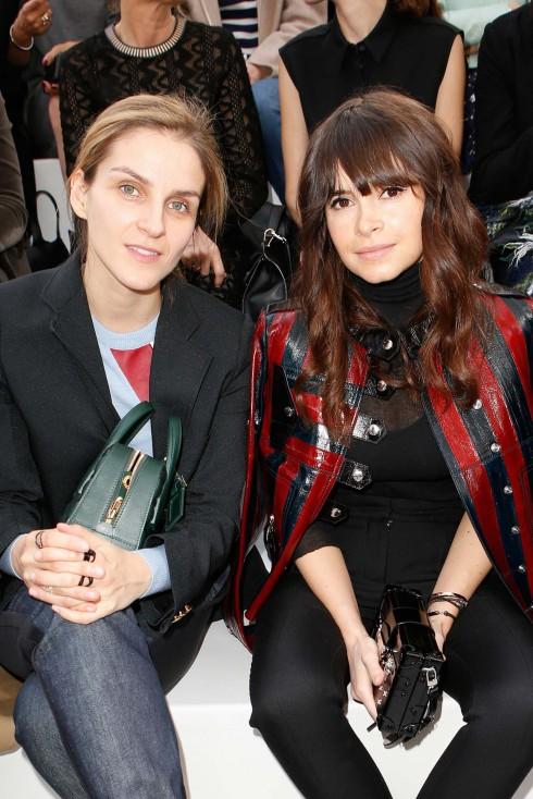 Nhà thiết kế Gaia Repossi và Fashionista Miroslava Duma