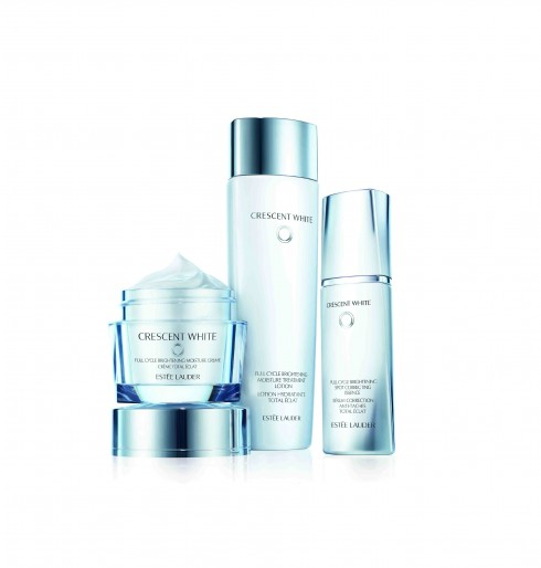 Bộ sản phẩm Crescent White Skincare của Estée Lauder