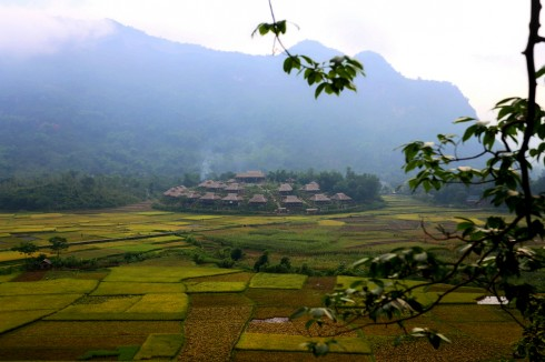 Mai Chau Ecolodge Overview (1)