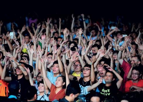 Cơn gió mùa của festival âm nhạc