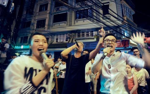 Hiệu ứng của festival âm nhạccũng phải kể tới các hoạt động hâm nóng trước sự kiện.