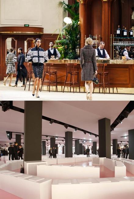 10 sàn catwalk ấn tượng Tuần lễ thời trang Thu-Đông 2015