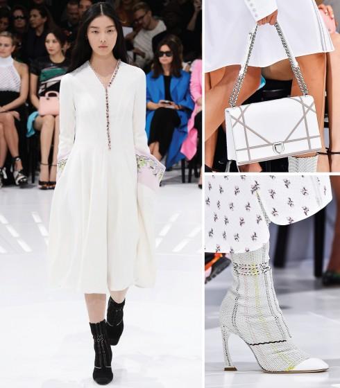 """""""Diorama"""" nắp gập là mẫu túi mới nhất của Dior trong năm."""
