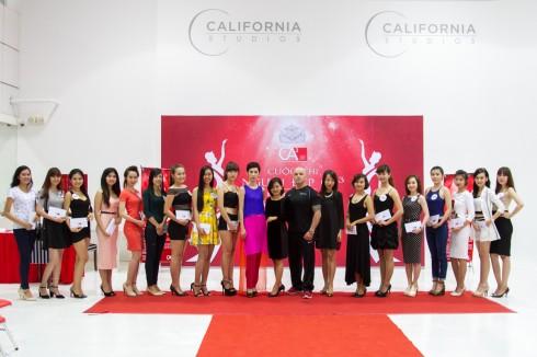 Top các bạn thí sinh được chọn tham dự vào thử thách tiếp theo vào 21/3/2015 của cuộc thi người đẹp CA3