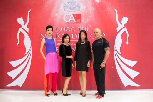 Siêu mẫu Xuân Lan làm giám khảo cuộc thi Người Đẹp CA3