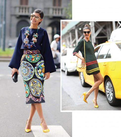 GIOVANNA BATTAGLIA, stylist người Ý nổi tiếng không chỉ vì những bộ hình thời trang cô thực hiện cho báo Vogue Ý và W mà còn bởi phong cách thời trang vui nhộn, nhiều màu sắc và đầy cá tính của cô