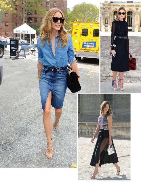 """Các """"It-Girl"""" từ New York thường được vô số nhãn hiệu thời trang ưu ái cho diện những mẫu thiết kế mới nhất trong các BST vừa trình diễn"""