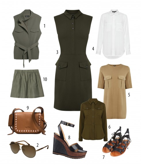 1. MANGO 2. CHARLES & KEITH 3. WARREHOUSE 4. FCUK 5. WAREHOUSE 6. KAREN MILLEN 7. MANGO 8. NINE WEST 9. COACH 10. LACOSTE