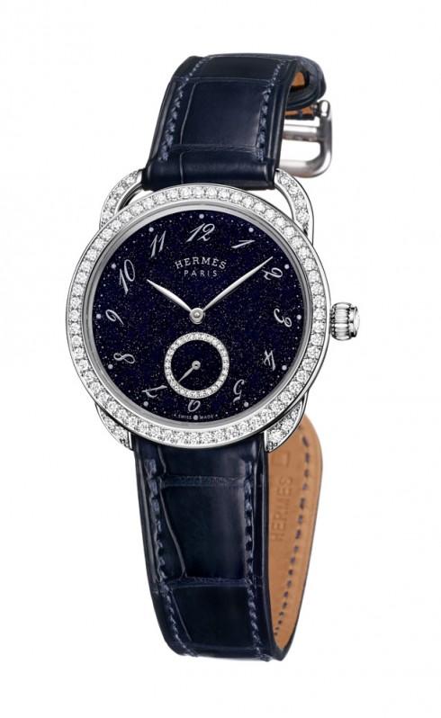 Đồng hồ thời trang nữ Arceau Ecuyère Aventurine của HERMÈS