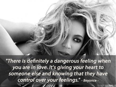 Câu nói hay về tình yêu của Beyonce