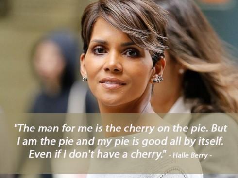 Câu nói hay về tình yêu của Halle Berry