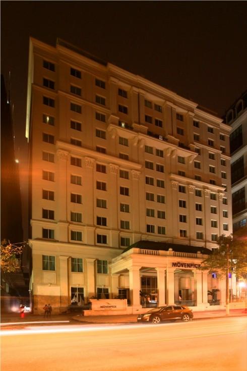 Movenpick Hotel hưỏng ứng giờ trái đất