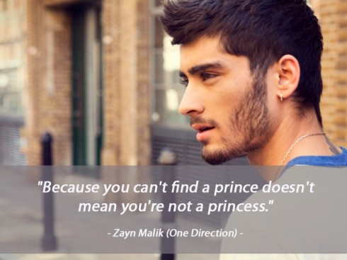 Câu nói hay về tình yêu của Zayn Malik (One Direction)