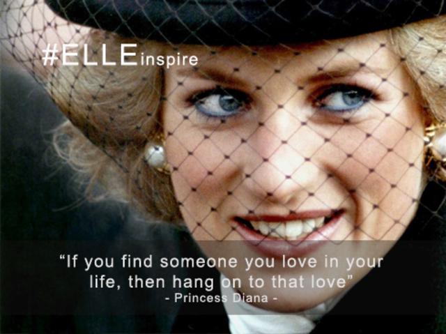 Câu nói hay về tình yêu Princess Diana
