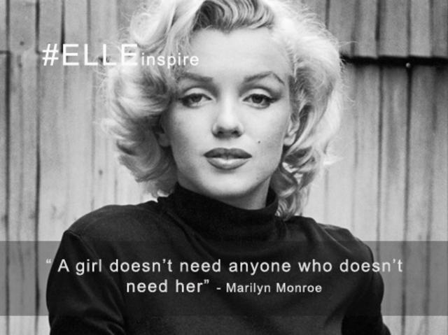 Câu nói hay về tình yêu của Marilyn Monroe