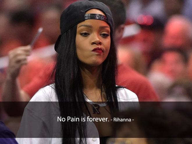 Câu nói hay về tình yêu của Rihanna