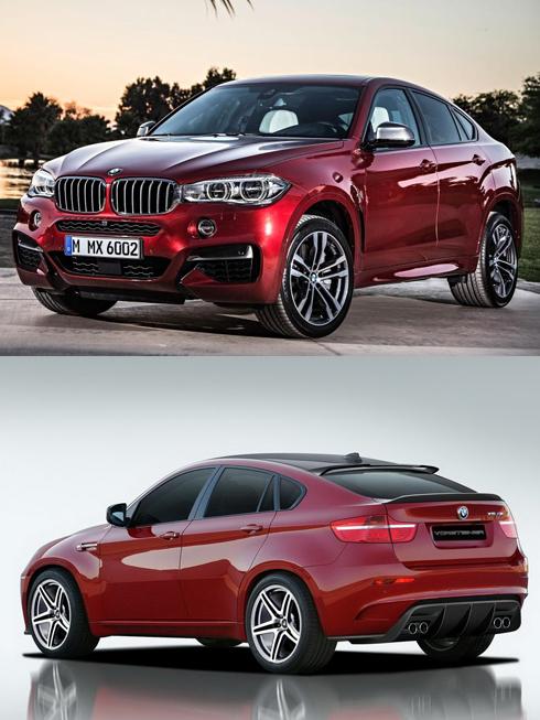 Ra mắt dòng xe thể thao cao cấp - BMW X6