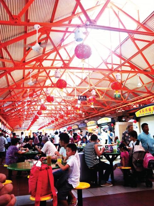 Nền ẩm thực đường phố tại Singapore