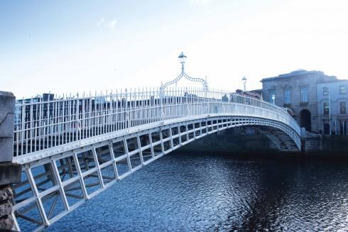 Thành phố Dublin được hình thành dọc hai bên bờ sông Liffey