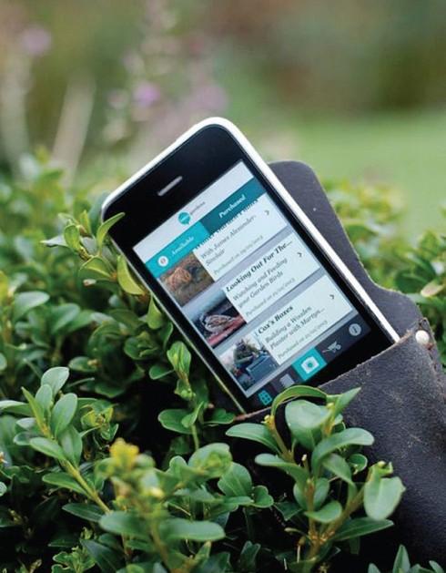 ứng dụng trồng cây trong nhà