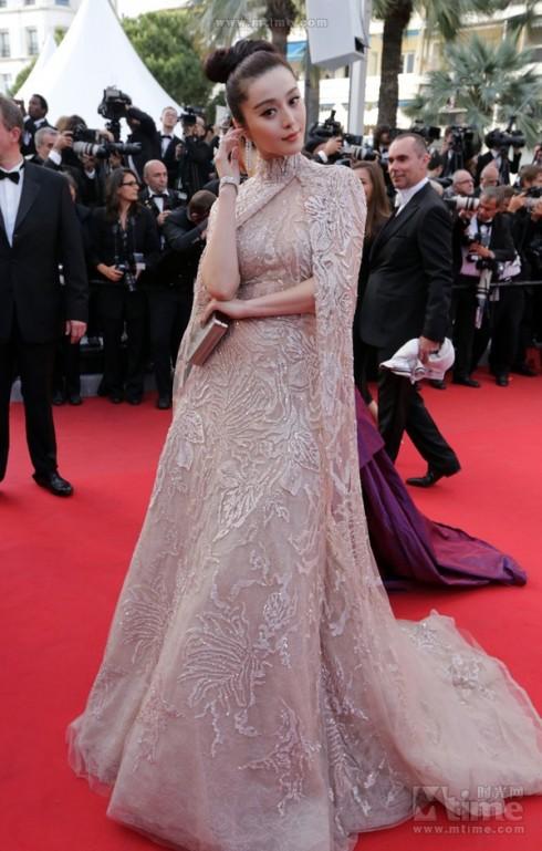 Phạm Băng Băng tại Cannes Film Festival lần 65.