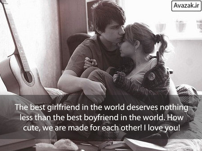 The best girlfriend in the world