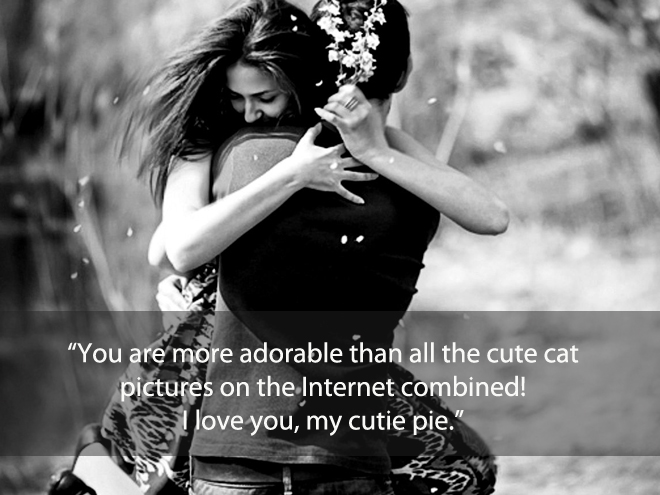 You are more adorable ...
