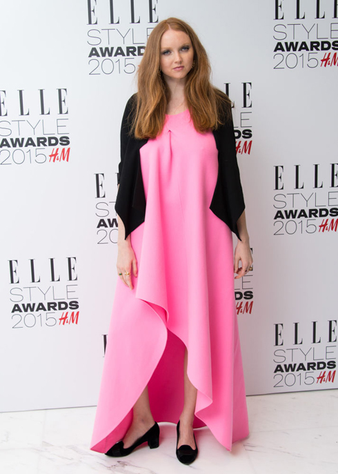 Lily Cole mặc Christian Dior <br/>ELLE Style Awards 2015
