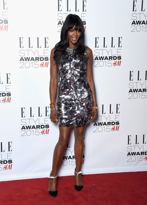 Naomi Campell<br/>ELLE Style Awards 2015