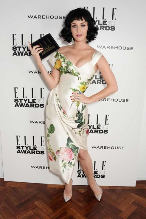 Katy Perry<br/>ELLE Style Awards 2014