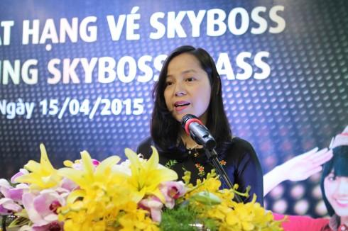 Bà Nguyễn Thị Thúy Bình – Phó Tổng Giám đốc Vietjet