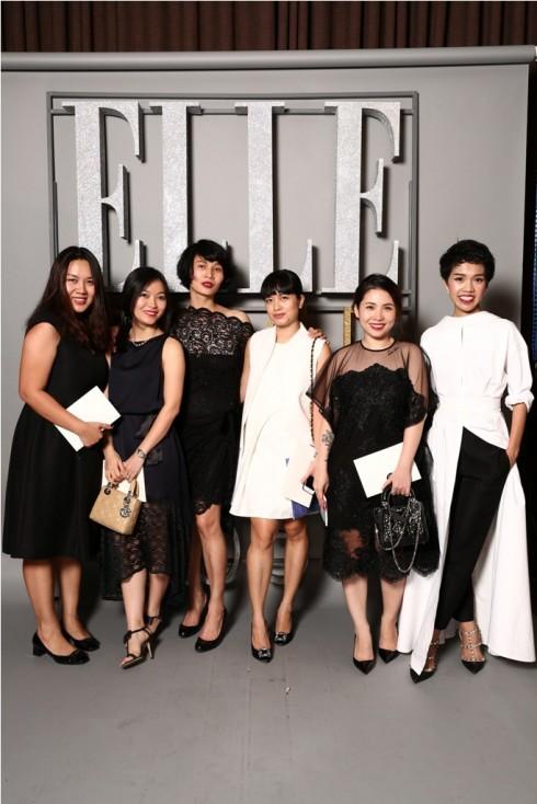 NTK Li Lam, stylist Lâm Thúy Nhàn và BTV Elle.