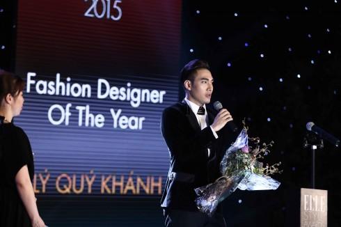 Lý Quí Khánh phát biểu cảm nhận khi nhận giải