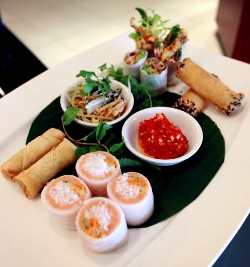 Nem cuốn hương vị Việt tại Brasserie Westlake