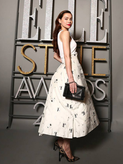 Hồ Ngọc Hà thắng giải Trang phục thảm đỏ đẹp nhất ELLE Style Awards Vietnam 2015