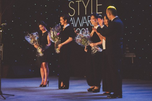 Giang My trong le trao giao ELLE Style Award 2015