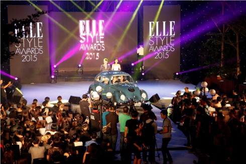 Sân khấu ELLE Style Awards Vietnam 2015