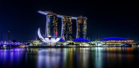 Marina Bay Sands - Du lịch Singapore