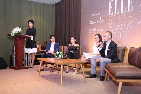 Họp báo ELLE Style Awards