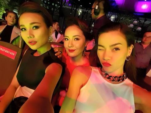 Bộ ba Thanh Hằng, Phương Linh, Hồ Ngọc Hà