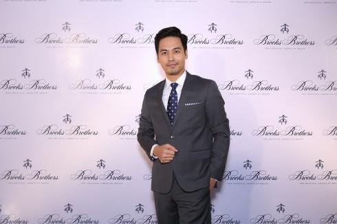MC Phan Anh phụ trách dẫn chương trình cho đêm tiệc