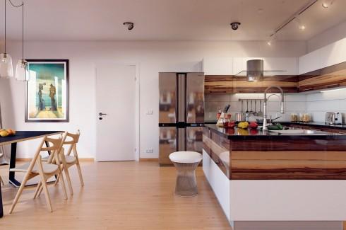 Chiếu sáng kiến trúc nhân tạo nhà ở