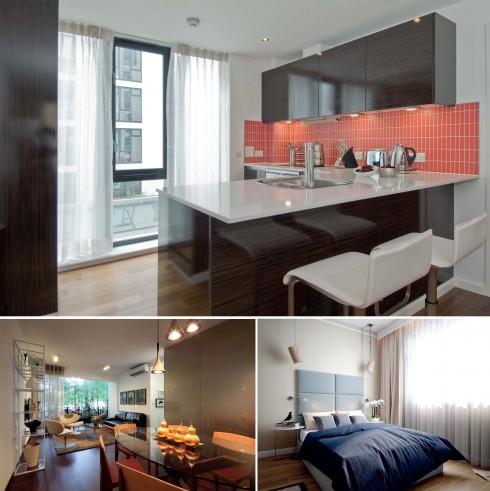 Các thiết bị chiếu sáng cho căn hộ nên đồng đều và phù hợp với phong cách nội thất của cả ngôi nhà.