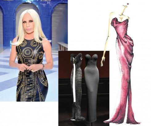 Thiết kế của Azzedine Alaia và NTK Donatella Versace