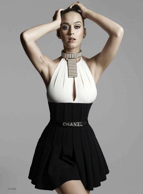 Hình ảnh mới nhất của Katy Perry trong tạp chí ELLE Mỹ