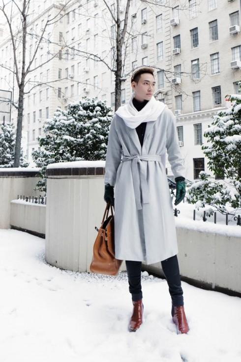 Phong cách thời trang của Lý Quý Khánh Tại New York Fashion Show 2015