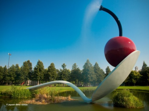 Spoonbridge and Cherry in New England