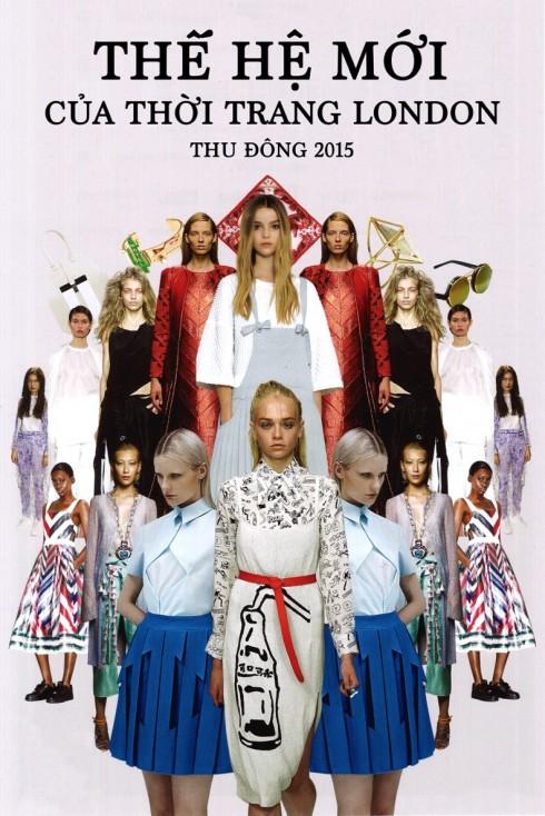 Thế hệ mới của làng thời trang London