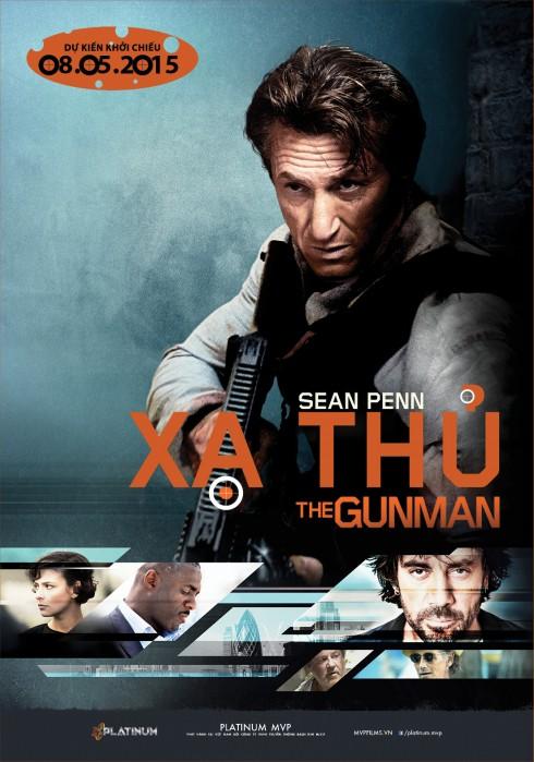 Khởi chiếu phim Gunman (Xạ Thủ)