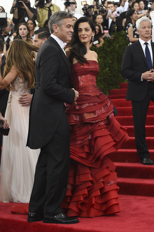 Amal Clooney và George Clooney